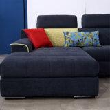 Sofa de bâti en bois solide de modèle moderne pour la salle de séjour Fb1146