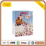 Modelo del regalo de la Navidad la bolsa de papel del viejo hombre