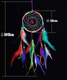 Coletor ideal, Dreamcatcher, coletor ideal de Boho, nativo americano Dreamcatcher