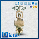 Didtek запорная заслонка руководства литой стали C95800 польностью открытая