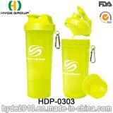 يحرّر [400مل] [ببا] [بّ] بلاستيكيّة بروتين رجّاجة زجاجة