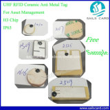Cerámica UHF RFID etiqueta con una muestra gratis