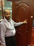 安い木のベニヤのドアの皮HDF MDF