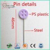 Cadre bourrant le Pin de couture de tête de bouton de plastique de 46mm pour DIY