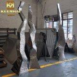 Kundenspezifische neue Edelstahl-Metalskulptur des Entwurfs-2018 für Dekoration