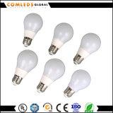 세륨을%s 가진 A60 80lm/W Plastic+Aluminum LED 전구