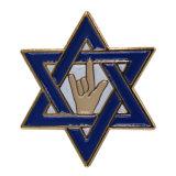 Commerce de gros Insigne métallique en forme en étoile de l'Insigne Insigne Insigne de police de l'infirmière