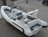 Barca gonfiabile rigida della guardia costiera della barca della nervatura di alta velocità di Liya 7.5m