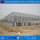 Túnel de la poli de gases de efecto invernadero la película de plástico del bastidor de aluminio
