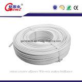 câble plat flexible de cuivre isolé par PVC de 2*0.5mm 2*0.75mm
