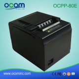 Imprimante thermique 80mm de réception à grande vitesse de position d'Ocpp 80e avec le découpage automatique pour le restaurant