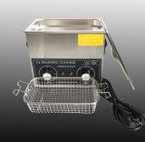 Controle mecânico 42kHz 3L máquina de limpeza por ultra-som SUS304