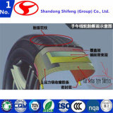 Окунутая ткань шнура используемая в подкреплении для V-Belt/пластичных сетчатых/пластичных сырий/ткань шнура полиамида/полиэфира/полиэфира/ткань фильтра полиэфира