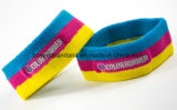 Produtos OEM de fábrica Custom bordados coloridos de algodão Jacquard Terry trabalhar ajustável