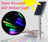 indicatore luminoso dell'acquazzone di meteora di lunghezza LED di 35cm con il comitato solare