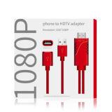 HDMI/HDTV 케이블에 번개 디지털 AV 접합기