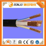O PVC mecânico do cabo de controle isolou e Sheathed o cabo de controle flexível protegido trança