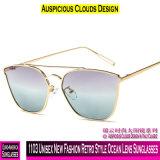 1103 neue Unisexform-Retro Art-Ozean-Objektiv-Sonnenbrillen