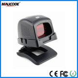 2D Desktop Omnidirectional Wired Barcode Scanner, Automatic Scanner Platform and Handfree Reader Mj9520