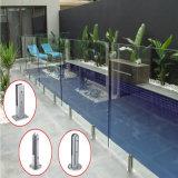 Framlessのガラス柵のプールの柱のシート