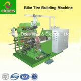 Три стадии типа велосипед и велосипедных шин здание машины
