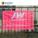Digital-Drucken-Ineinander greifen-Gewebe-Ineinander greifen-Zaun-Fahne für Bildschirmanzeige