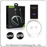 Auricular plegable magnético sin hilos de Bluetooth de la tirilla de la camisa de X19c-a