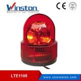 Ltd-1105j Rode Roterende Waarschuwing Lichte DC12V 24V AC 110 22V met Zoemer