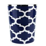 Pompa di ceramica della lozione del blu marino semplice di vita per gli accessori della stanza da bagno impostati