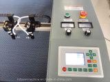 Un jouet en peluche éponge Machine de découpe laser EVA 1810 avec double tête