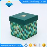 Custom Hat Box Style Boîte de Papier de cadeau de Noël en carton