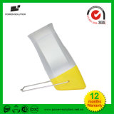 Lanterna solar pequena flexível para a leitura da criança e o curso ao ar livre