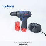 A mão elétrica utiliza ferramentas a broca de martelo giratória sem corda com bateria do Li-íon