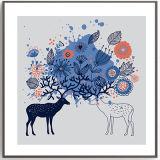 児童室の壁の装飾の現代動物の芸術の絵画