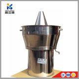 Mejor calidad de la trementina Aceite esencial el equipo de destilación por vapor