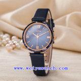Regardez l'usine Montre bracelet en cuir de Service personnalisé Fashion Watch (Wy-123C)