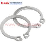 Anéis de retenção de DIN471 DIN472 para furos e furo