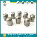 Botón del carburo de tungsteno, Carbidebutton cementado, botón del carburo de tungsteno para la perforación