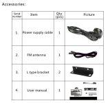 6 zonas de la serie TA PA amplificador mezclador con Echo