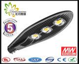 5 anni della garanzia di TUV del Ce di RoHS SAA dell'UL Hotsale della PANNOCCHIA 100W LED di indicatore luminoso di via, lampada di via del LED, indicatore luminoso della strada del LED