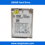 mecanismo impulsor duro de la computadora portátil de 2.5inch SATA 250GB