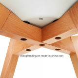 Muebles de comedor estilo Tulip silla de plástico con relleno