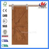 Porte en bois Pocket souillée industrielle