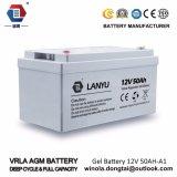 La válvula reguló la batería de plomo del AGM de la batería 12V 50ah de la UPS