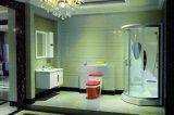 Vanité multicouche de salle de bains en bois solide de ménage