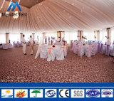 1000人の玄関ひさしのテント上の大きい屋外の明確なスパンの結婚披露宴のテント