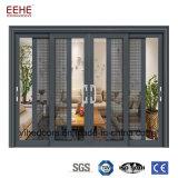 Porta principal de alumínio de vidro de porta deslizante do sensor automático do escritório