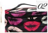 Мода женщин губы косметический мешок большой поездки леди мешок для макияжа и туалетные принадлежности сумка для макияжа случаях Trousse Maquillage органайзера