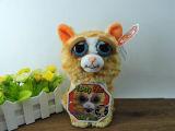 Cadeau drôle de Noël de poupée de peluche d'expression de jouets courageux d'animaux familiers