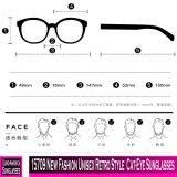 15709 neue Form-Retro Art Katze-Auge Unisexsonnenbrillen
